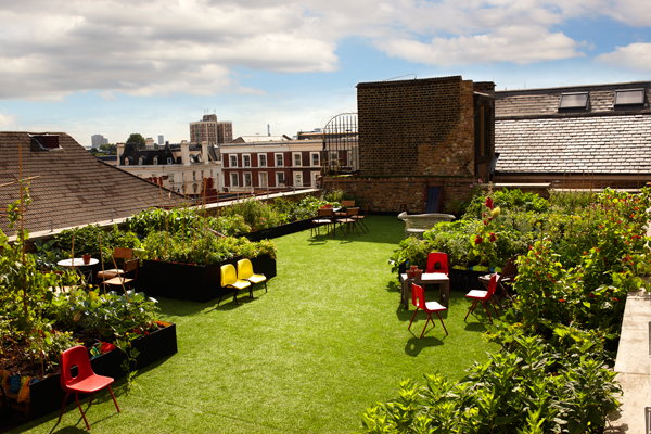 Rooftop Fridays: Dalston Roof Park photo