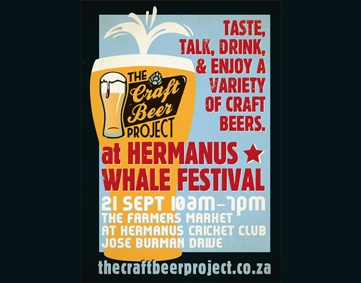 The Craft Beer Project features at Hermanus Whale Festival photo