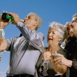 The key to reaching 100? Drink a lot of booze, says this centenarian photo