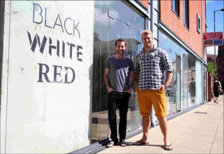 England rugby captain Chris Robshaw visits his new bar in Winchester photo