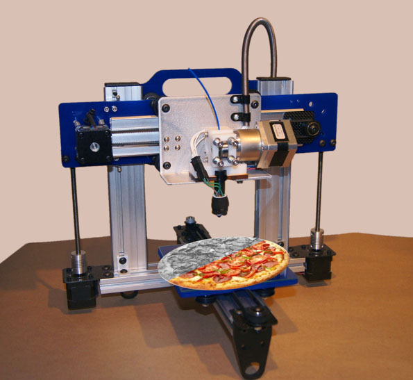 Researchers Developing 3D Printed Pizza photo