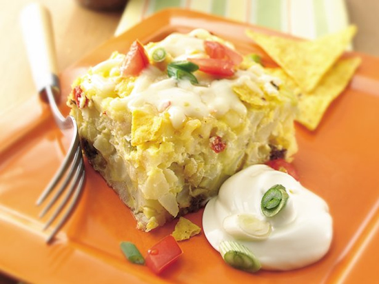 Cheesy Chili and Egg Bake photo
