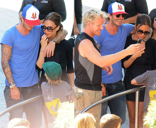 David Beckham backs out of restaurant venture with Gordon Ramsay photo