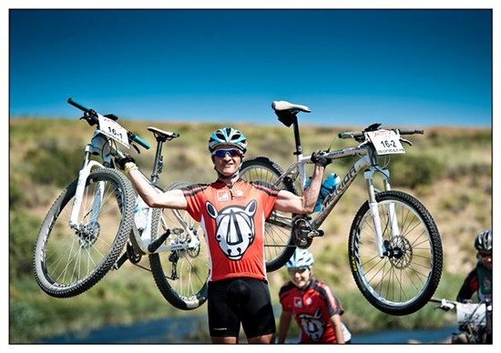 Cycle with Durbanville Hills Wines in aid of Rhino's photo