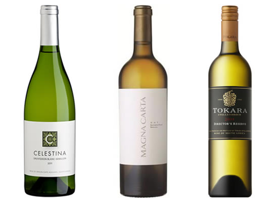 South Africa's Top Three Sauvignon Blanc-Semillon Blends photo