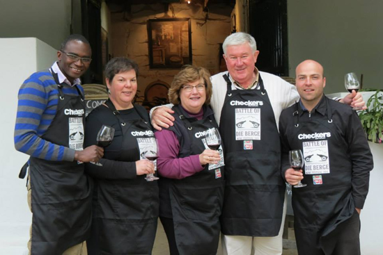 The Checkers Battle of Die Berge sets new standards for wine judging photo