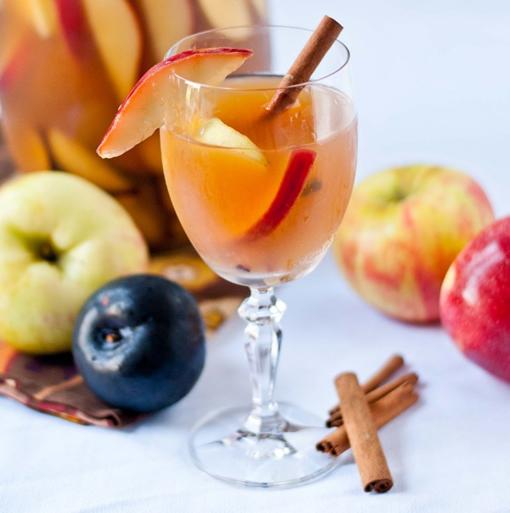 Apple-Plum Sangria Recipes — Dishmaps