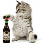 Never Drink Alone Again Because Now There's Wine for Cats photo