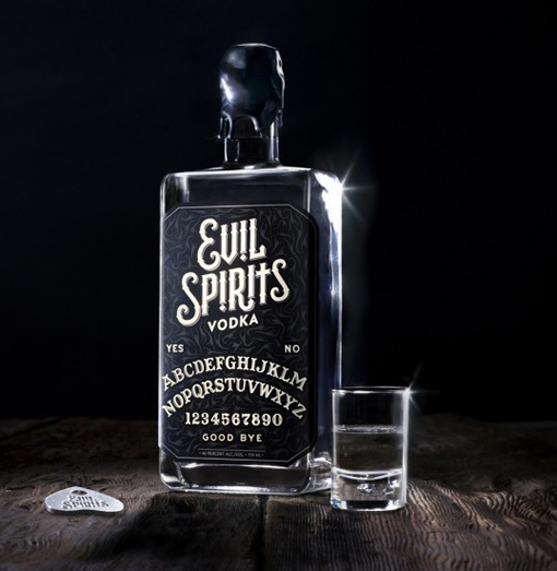 Packaging Spotlight: Evil Spirits Vodka photo