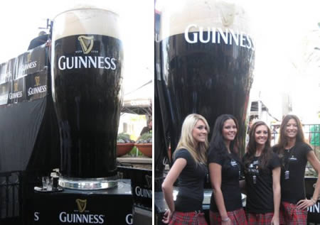 guiness large 5 Record Breaking Big Drinks