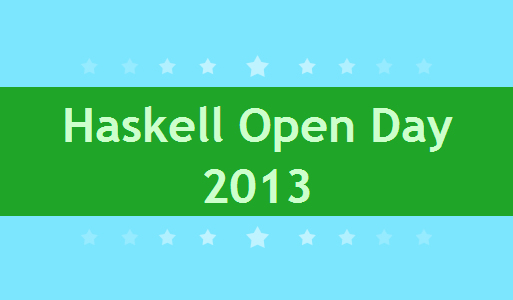 Haskell Open Day – 9 November 2013 photo