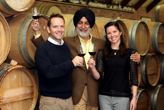 Indian Entrepreneur invests in award winning South African Winery photo