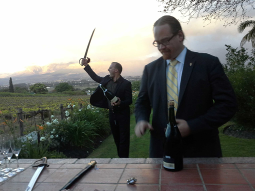 12 of the World's Top Sommeliers Compete in the Cape Winelands photo