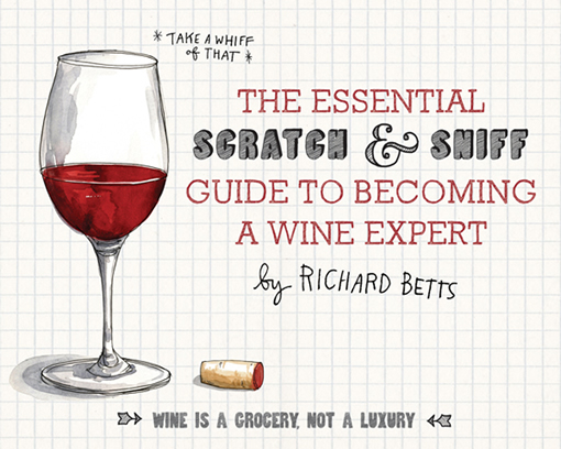 This Scratch-N-Sniff Wine Book Will Get Your Nose Drunk…On Knowledge photo