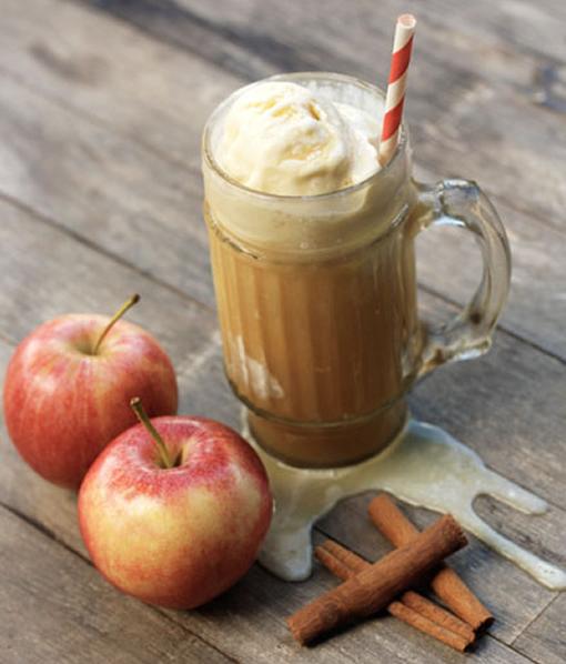 Apple Cider Floats - drinksfeed.com