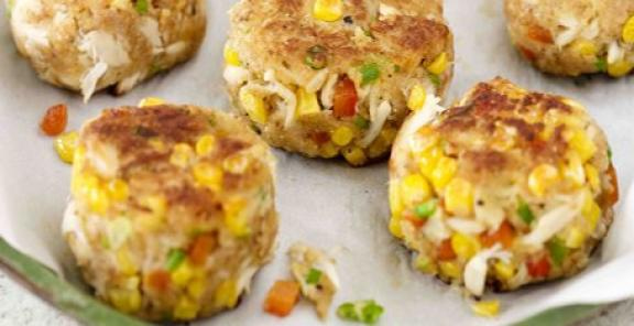 Crab and Corn Cakes photo