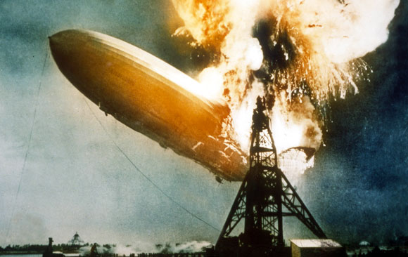 Hindenburg beer up for auction photo