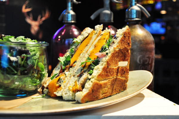 This iPhone app will help you track down the best sandwiches in London. photo
