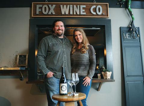 Wine Couple Comes Home photo