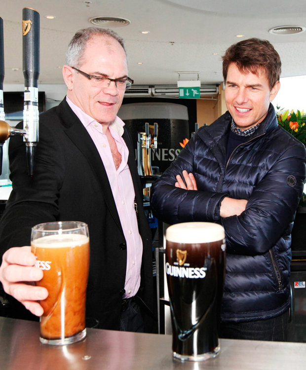 Man earns a living travelling the world drinking Guinness photo