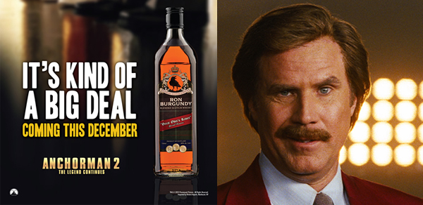 Anchorman 2 Releases Specialty Brand Of Scotch For Movie Launch photo
