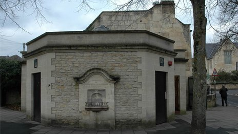 Bath public toilet could become a wine bar photo