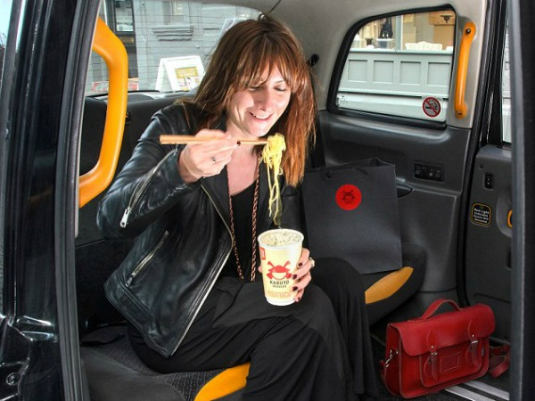 This Hangover Taxi Will Serve You Noodles and Bring You to Work photo