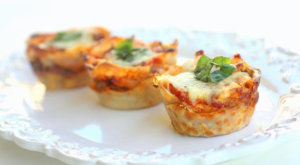 Lasagna Cupcakes photo