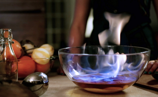 Set Your Holiday Punch on Fire, Charles Dickens Style photo