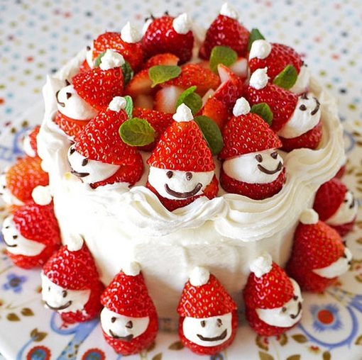 Make Your Own Strawberry Santas photo