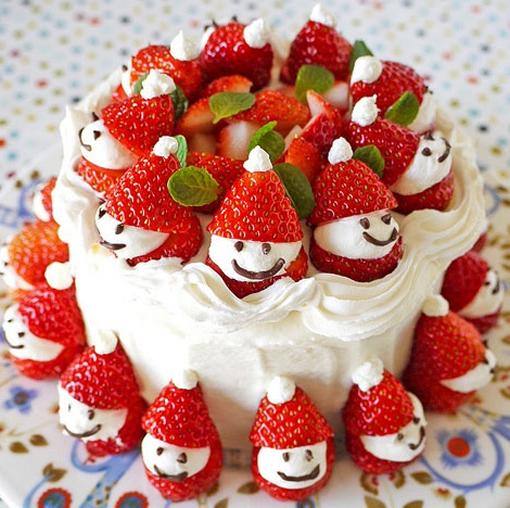 Make Your Own Strawberry Santas photo