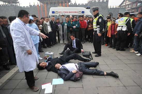 Chinese employer ties year-end bonuses to how much workers could drink photo