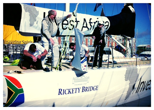 Rickety Bridge Unveiled as Official Wine Supplier for the Clipper Round The World photo