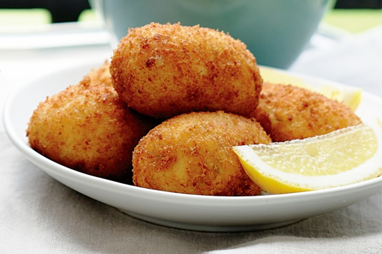 Butternut squash croquettes recipe photo