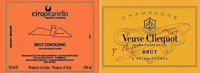 Veuve Clicquot Sues Italian Producer Over Label photo