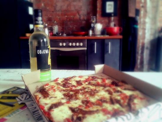Grab a slice, pour yourself a glass of OBIKWA and celebrate Sauvignon Blanc photo