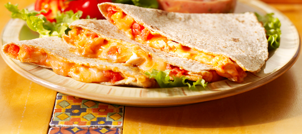 Easy Cheesy Chicken Quesadillas photo