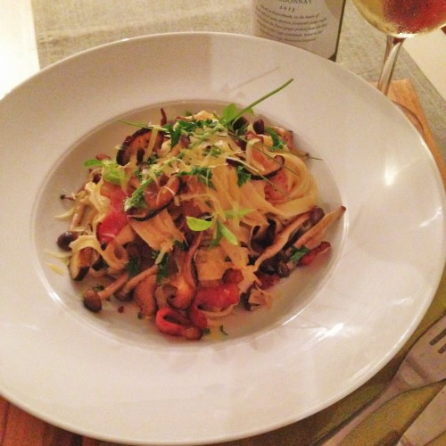 Chardonnay and Pasta on a Thursday night – you deserve it! photo