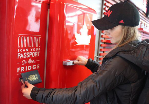 There's Free Beer in Sochi, but You Have to be Canadian photo
