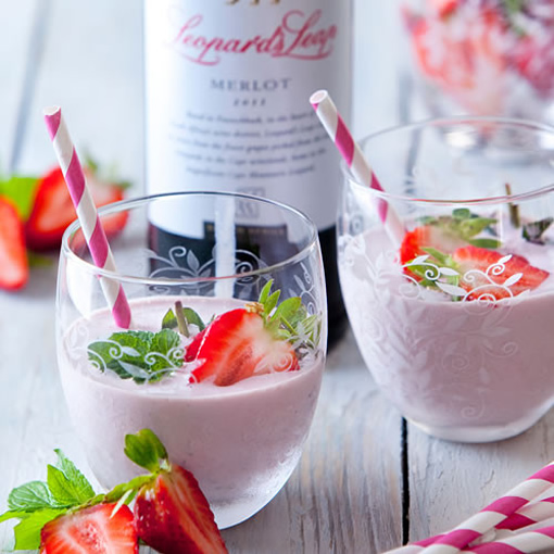 Have a mellow weekend with our Merlot Milkshakes! photo