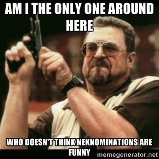 3 Crazy Neknomination Dares photo