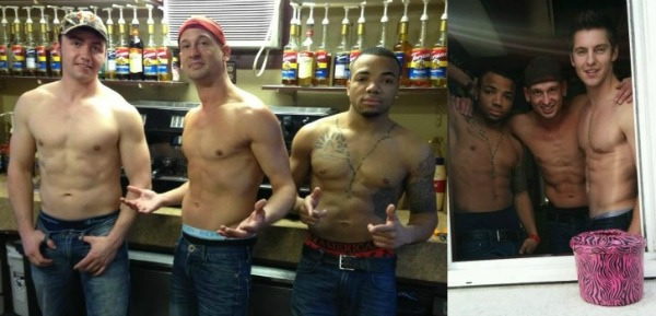 Shirtless Male Baristas Will Serve You at this Coffee Shop photo