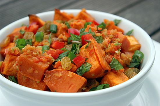 A Spicy Sweet Potato Salad That Can Help You Lose Weight photo