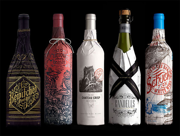 Packaging Spotlight: Stranger and Stranger Wine Packaging photo
