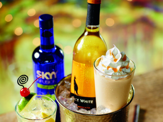 US chain adds boozy wine shakes to menu photo