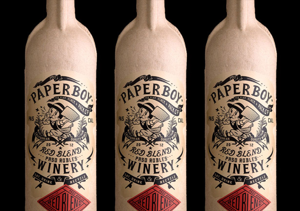 Cardboard Bottles: Wine`s Classy, Eco-Friendly Alternative photo
