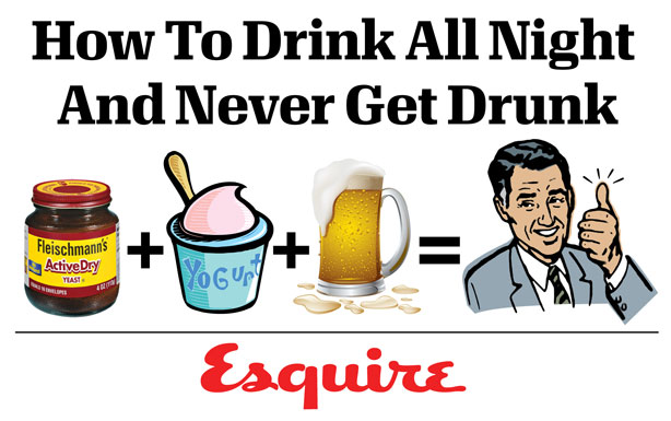 How to drink and NEVER get drunk photo