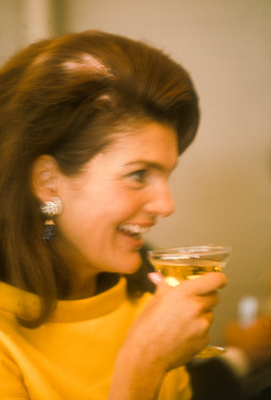 jackie kennedy drinking 5 First Ladies to share a glass of wine with