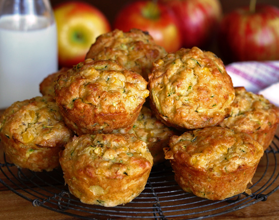 Smoked Bacon with Blue Cheese Muffins photo
