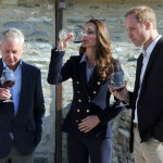 Prince William and Kate go wine tasting in New Zealand photo